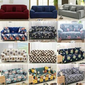 1 2 3 4 Seater Super Stretch Sofa Cover Couch Recliner Chair Slipcover Protector