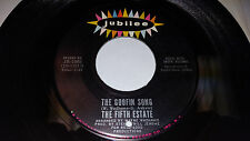 "FIFTH ESTATE Lost Generation / The Goofin Song 7"" 45 Jubilee JB-5588 VG+"
