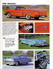 1958 Chevy + Impala Convertible Article - Must See !!