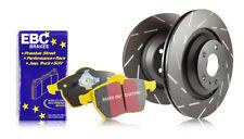 EBC Rear Ultimax Brake Discs Yellowstuff Pads for Mazda 6 2.3T MPS GG 260 05>08