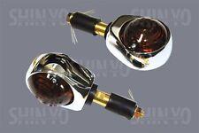 Simson Schwalbe KR51/1 KR51/2 Blinker Lenkerende 12V Chrom E-Geprüft