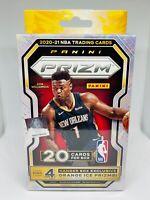 2020-21 Panini Prizm Basketball Hanger Box 20 Cards Orange Ice Brand New Sealed