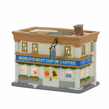 Dept 56 Elf the Movie Christmas Village Worlds Best Cup of Coffee Shop 4057278