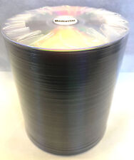 100 DVD-R Mediastar Official Shiny Silver Surface Thermal Printable 4.7GB 16X