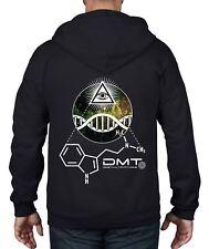 DMT All Seeing Eye Psychedelic Full Zip Hoodie