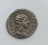 ANCIENT ROMAN SILVER DENARIUS JULIA MAMEA /222-235 AD/