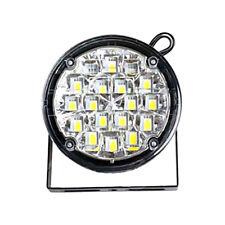 2pcs 12V 18LED Round Car Driving DRL Daytime Running Light Fog Lamp White New