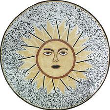 Sun Shine Bright Medallion Design Floor Pool Garden Home Marble Mosaic MD956