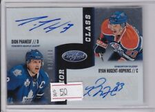 Dion Phaneuf Ryan Nugent-Hopkins 2012-13 Certified Junior Class Dual Auto 26/100