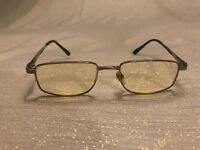 Gianni Versace Glasses Mod.64 Col.39 52-18 Silver Tone Prescription Italy