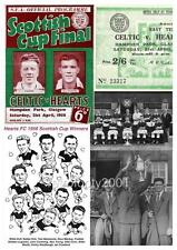 Heart of Midlothian FC Hearts FC 1956 Scottish Cup Final Limited Edition Print