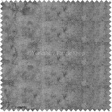 Luxury Feel Chenille Like Velvet Texture Soft New Silver Grey Upholstery Fabric