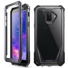 For Samsung Galaxy A6 2018 Shockproof Rugged [Heavy Duty] Case Cover Black