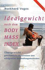 IDEALGEWICHT NACH DEM BODY-MASS-INDEX - Burkhard Voges BUCH - NEU