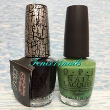 OPI BLACK SHATTER E53 + ZOM-BODY TO LOVE Halloween Glow In Dark Nail Polish Set