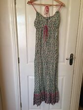LADIES 'FRENCH CONNECTION' MULTI PRINT MAXI DRESS. SIZE 6. GOOD CONDITION.