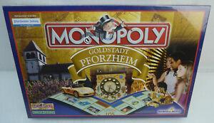 =MONOPOLY=GOLDSTADT PFORZHEIM=NEU / OVP IN FOLIE=HASBRO WINNING MOVES VON 2008=
