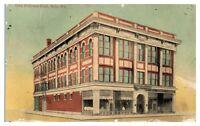 Early 1900s Odd Fellows Hall, Erie, PA Postcard