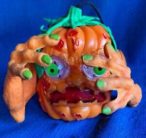 Vintage Boglin 1994 Spearhead Halloween Jack O Lantern Pumpkin Bobble Arms WORKS