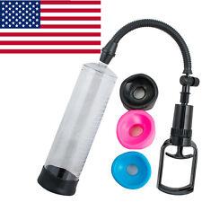 "Best USA US Vacuum Penis Pump Male Enhancement Enlargement 8"" POWER Medicine"
