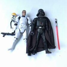 2Pcs Set Star Wars ANAKIN SKYWALKER/DARTH VADER & CLONE TROOPERS Action Figures