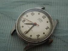 "Vintage Steel ""Enicar, Sport"" steel screw back wristwatch, original estate find"
