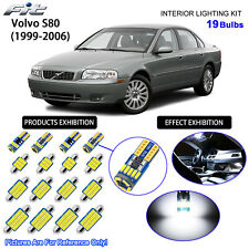19 Bulbs LED Interior Dome Light Kit 6000K Cool White For 1999-2006 Volvo S80