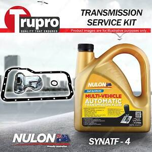 Nulon SYNATF Transmission Oil + Filter Service Kit for Mazda 121 DB DW 1.3L 1.5L