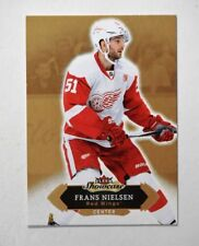 2016-17 Fleer Showcase #12 Frans Nielsen - NM-MT