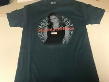 Martina McBride New Large American Flag Blue Shirt Late 90's