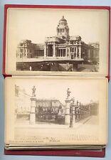 SOUVENIR de BRUXELLES . 12 Photographies anciennes .