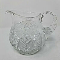 Beautiful Vintage American Brilliant Cut Glass Creamer
