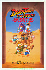 DUCK TALES Treasure Of The Lost Lamp MOVIE POSTER 27x41 Disney Channel One Sheet