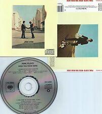 PINK FLOYD-WISH YOU WERE HERE-1975-USA-COLUMBIA REC. CK 33453 CMU P 119-CD-MINT-