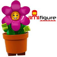 NEW LEGO Minifigures Flowerpot Girl Series 18 71021 Party Genuine Flower Pot