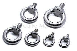 stainless steel lifting eye bolt bolts A4 316 Marine grade M5 M6 M8 M10 M12 580