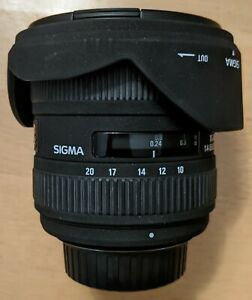 SIGMA 10-20MM F4-5.6 EX DC HSM FOR NIKON DX BODIES