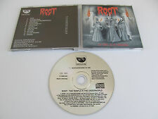 ROOT The Temple in the Underworld CD 1992 MEGA RARE 1st PRESS MONITOR RECORDS!!!