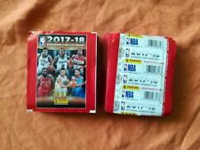 50 sealed sticker packs packets bustine NBA Basketball Panini 2017 2018 17 18