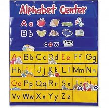 Alphabet Wall Pocket Chart Educational School Teaching Supplies Classroom Kids