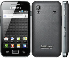 Refurbished Samsung Galaxy Ace GT-S5830i Black (Unlocked) Smartphone 5MP GSM
