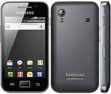 Refurbished Samsung Galaxy Ace GT-S5830i Black (Unlocked) Smartphone 5MP GSM Bar