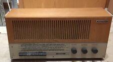 GRUNDIG 2447 * RÖHREN Radio  1964-1965* RETRO * funktiosfähig * LESEN