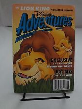 Disney Adventures Magazine July 1994 Lion King Collector's Issue (E2)