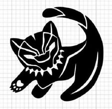 BABY LION KING BLACK PANTHER Vinyl Decal -Sticker for Car Truck Bumper Wall