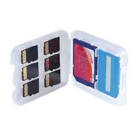 LT_ EY_ 8 Slots Hard Micro SD SDHC TF MS Memory Card Storage Box