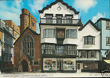 Devon Postcard - Famous Mol's Coffee House, Cathedral Close, Exeter  LC6203