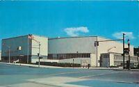 Rochester NY~Rochester War Memorial Auditorium~Exchange Street~1973 Postcard