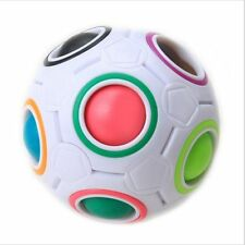 Rainbow Football Ball Spherical Magic Cube Education Puzzle Toys Gifts Children