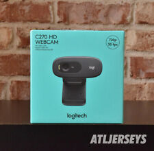 New Logitech C270 HD 720p Webcam Black In Hand Ships Now